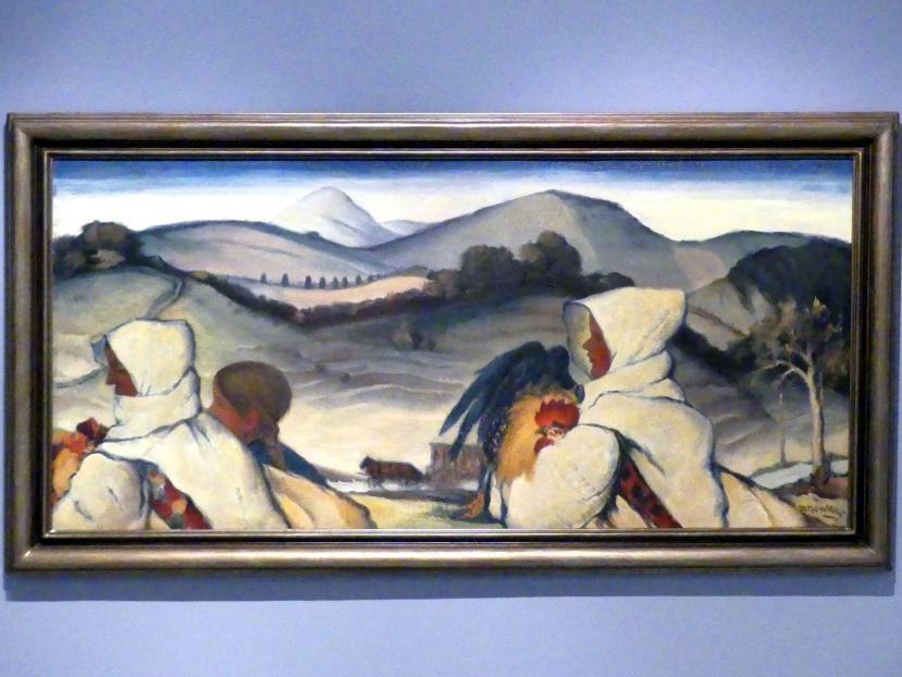 Martin Benka: Zum Markt, 1932