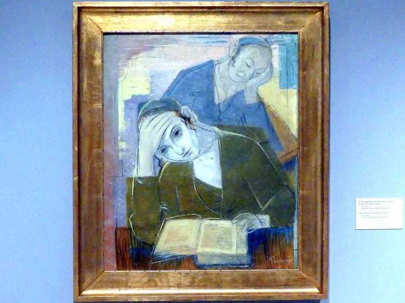 František Reichentál: Zwei Talmud-Studenten, 1932