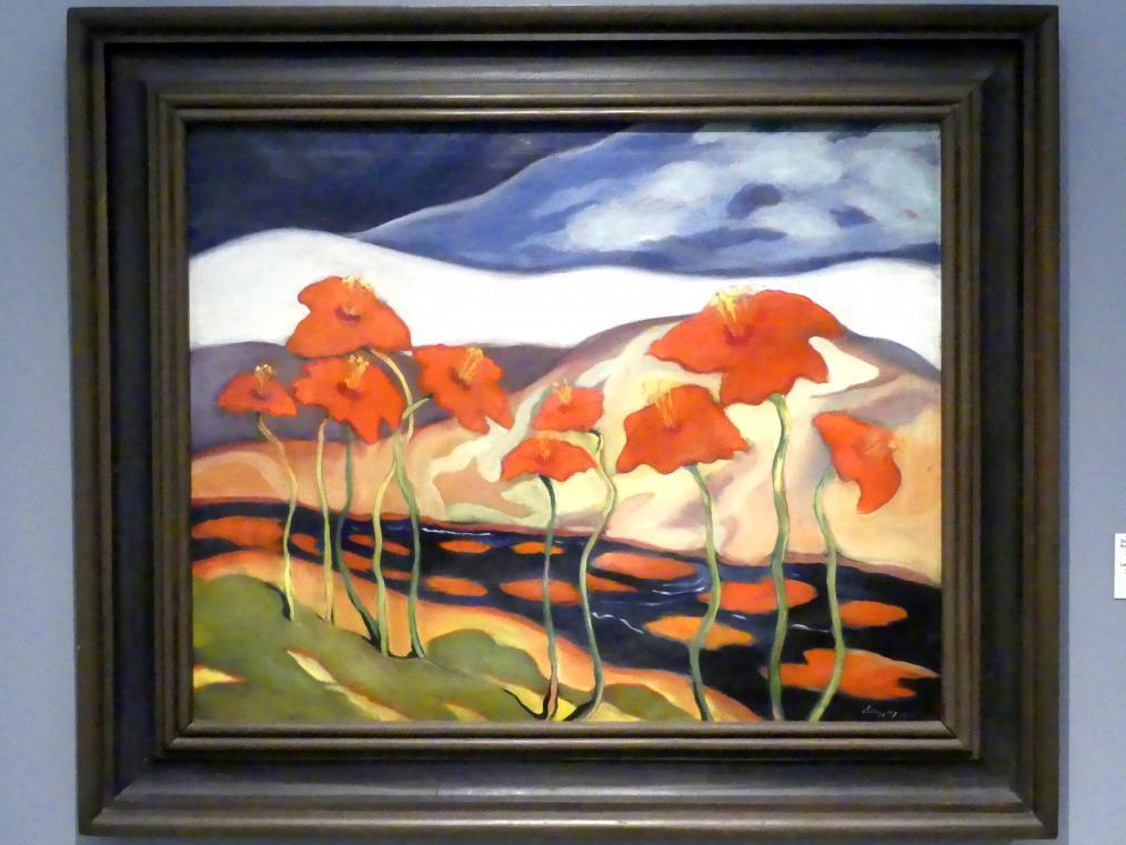 Zoltán Palugyay: Landschaft mit Blumen, 1930