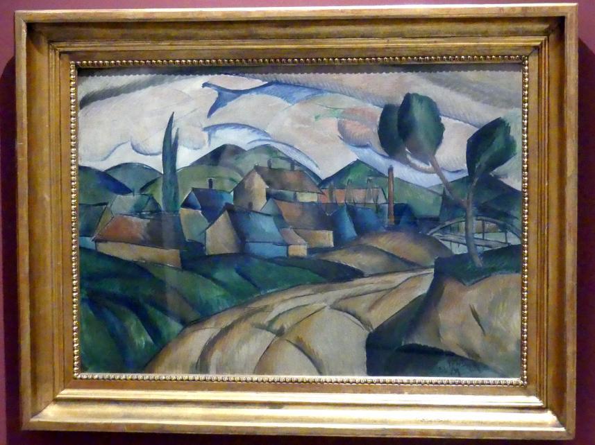Frantisek Foltýn: Landschaft, 1922
