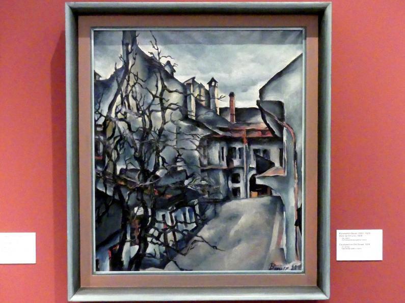 Konštantín Bauer: Hof an der Orlí-Straße, 1928