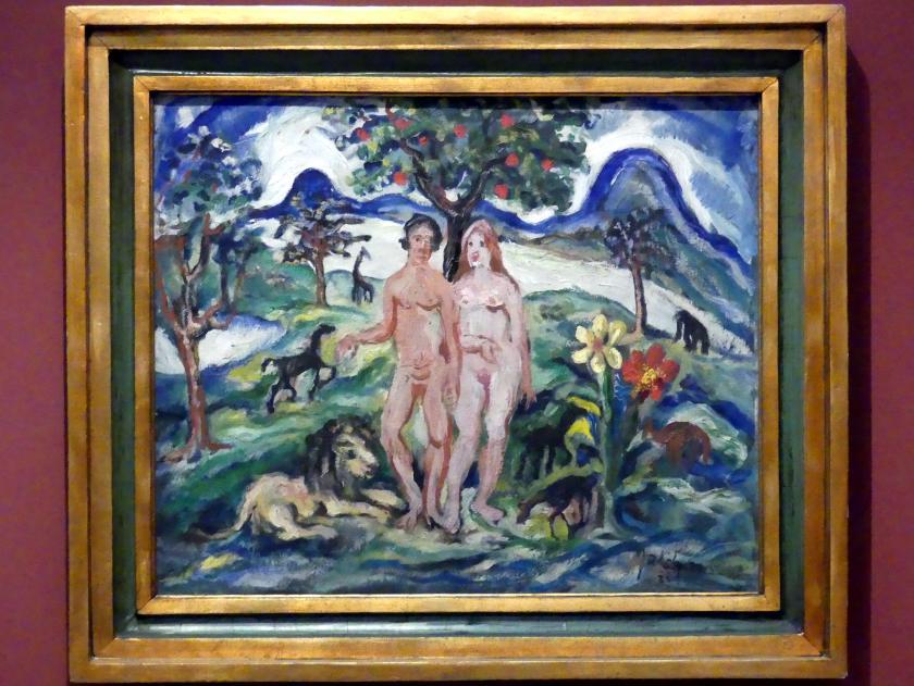 Július Jakoby: Adam und Eva, 1933