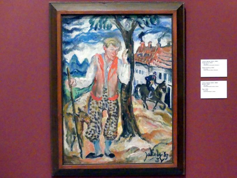 Július Jakoby: Angst, 1934