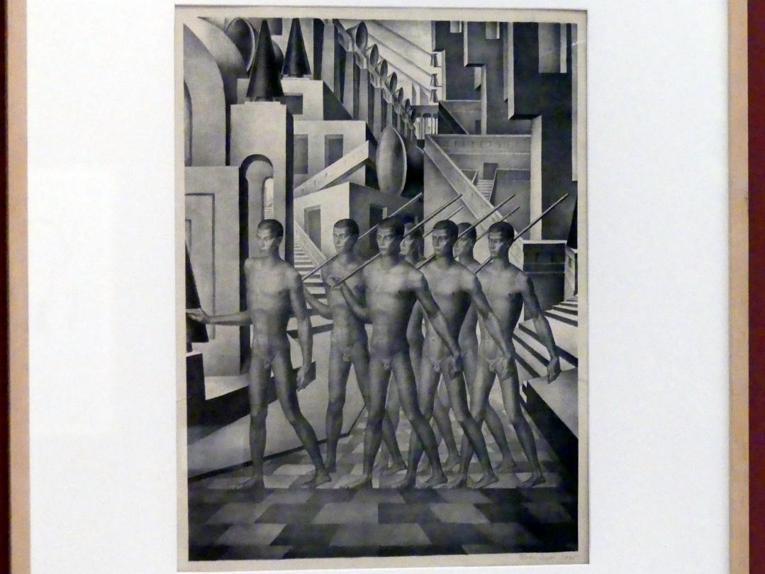 Eugen Krón: Kreativer Geist II -  Gruppe von Männern, 1925, Bild 1/3