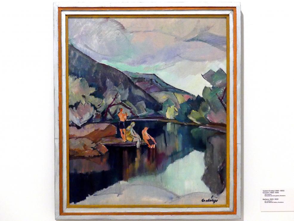 Vojtěch Erdélyi: Badende, 1920 - 1930