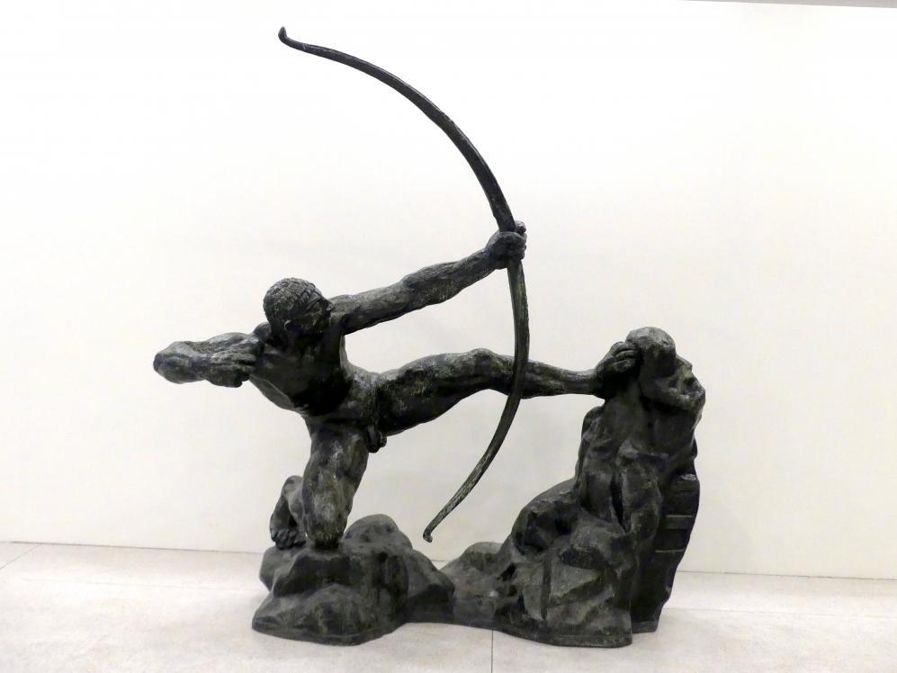 Antoine Bourdelle (Émile-Antoine Bourdelle): Herkules der Bogenschütze, 1909