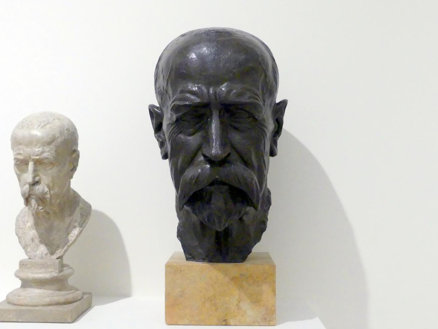 Karel Dvořák: Büste Tomáš Garrigue Masaryk, vor 1938