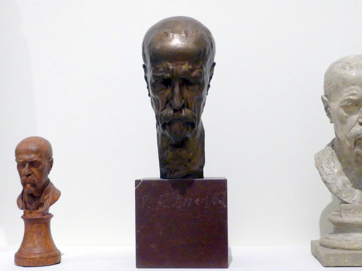 Vincenc Makovský: Büste Tomáš Garrigue Masaryk, 1936 - 1937
