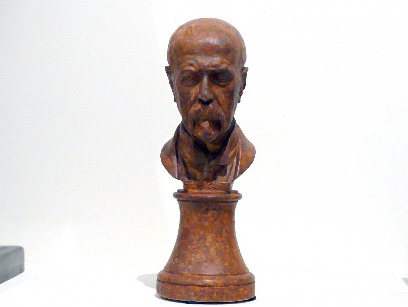 Jan Štursa: Büste Tomáš Garrigue Masaryk, 1921