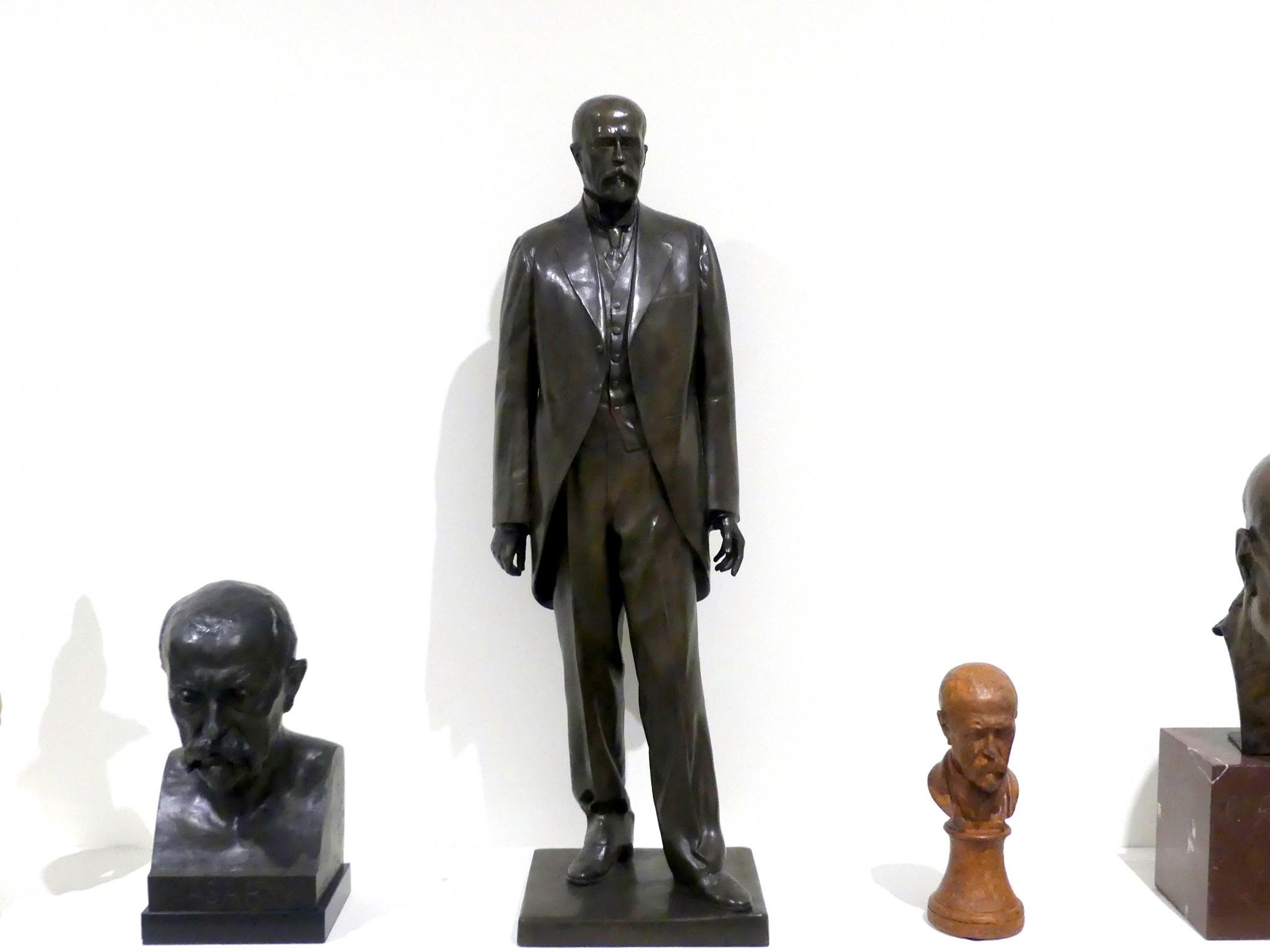 Otto Gutfreund: Entwurf für das Tomáš Garrigue Masaryk Denkmal in Hradec Králové, 1925