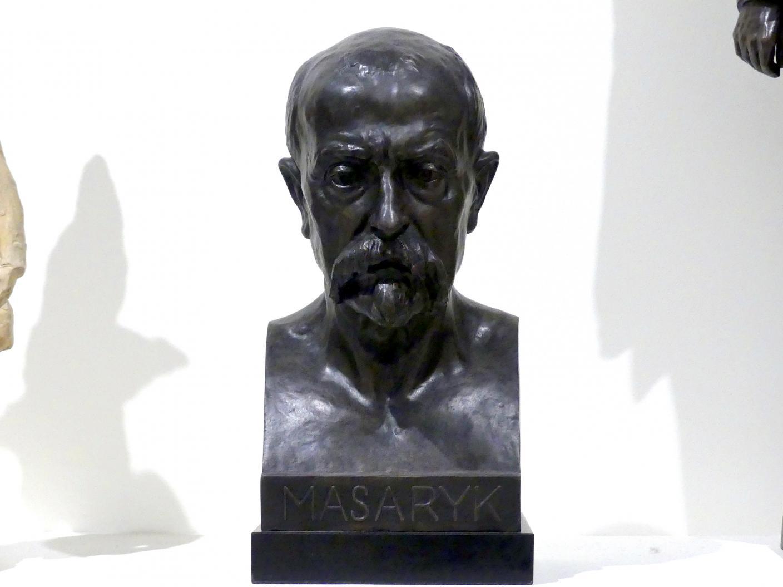 Josef Mařatka: Büste Tomáš Garrigue Masaryk, um 1920 - 1930