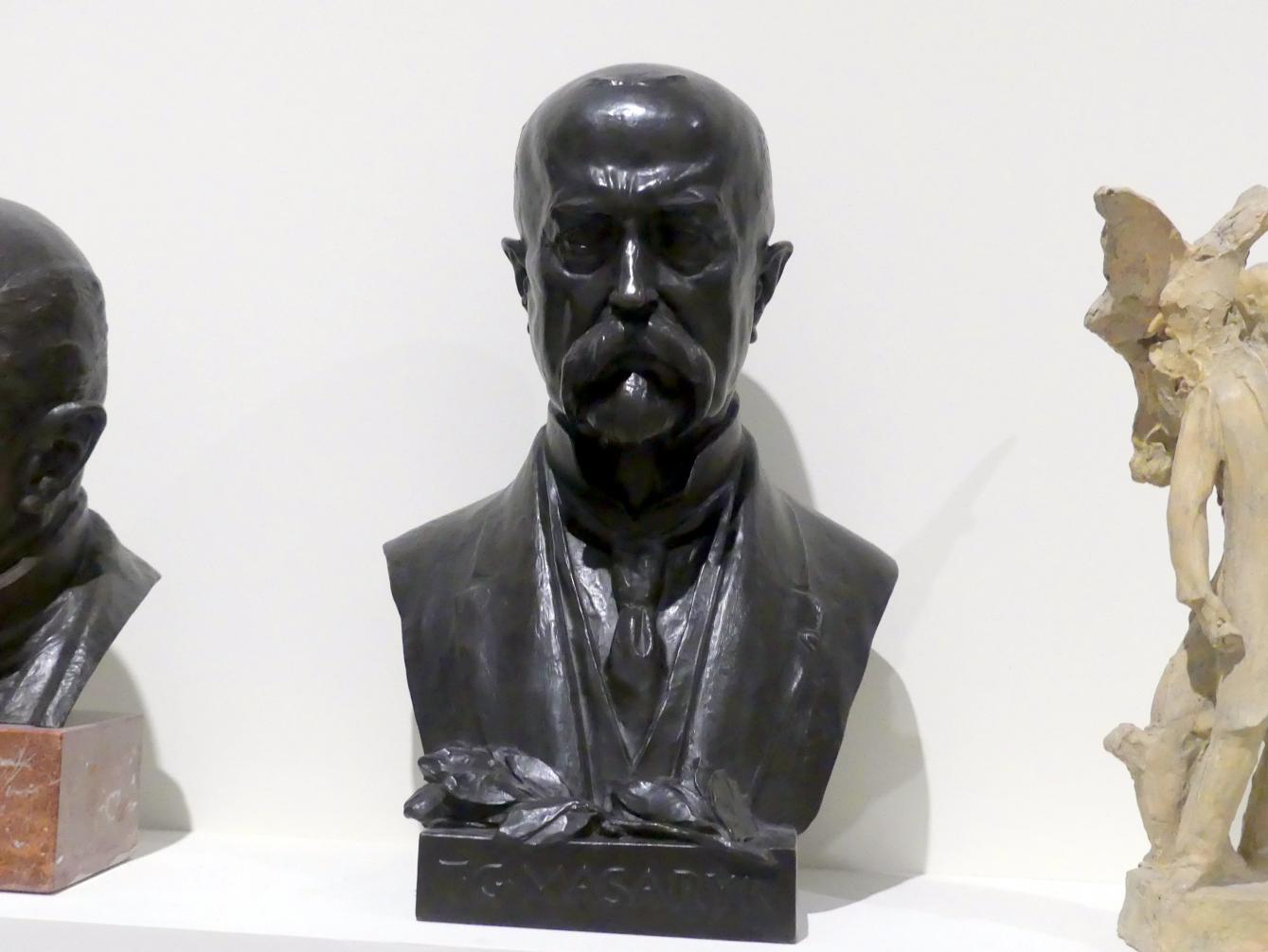 Bohumil Kafka: Büste Tomáš Garrigue Masaryk, 1925