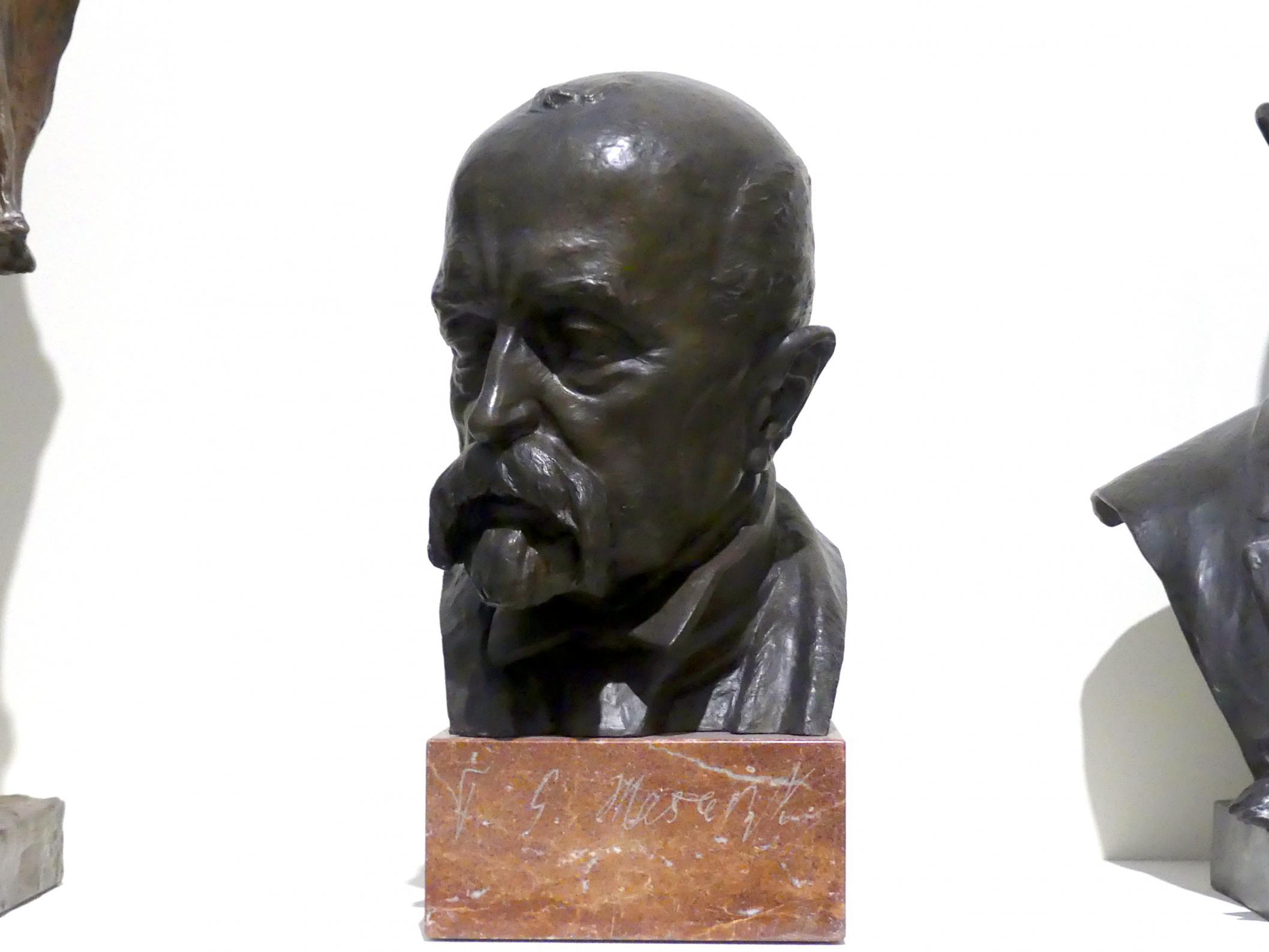 Ladislav Šaloun: Büste Tomáš Garrigue Masaryk, vor 1930