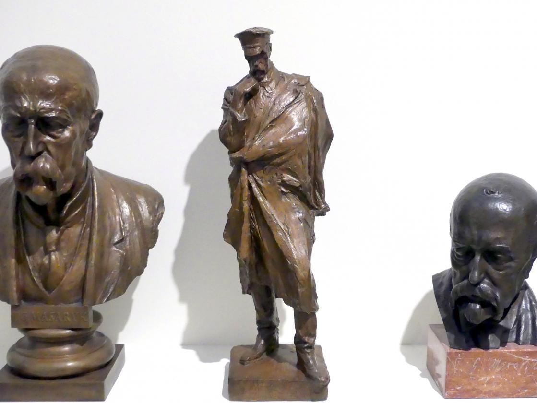 Karel Pokorný: Entwurf für ein Tomáš Garrigue Masaryk Denkmal, 1937