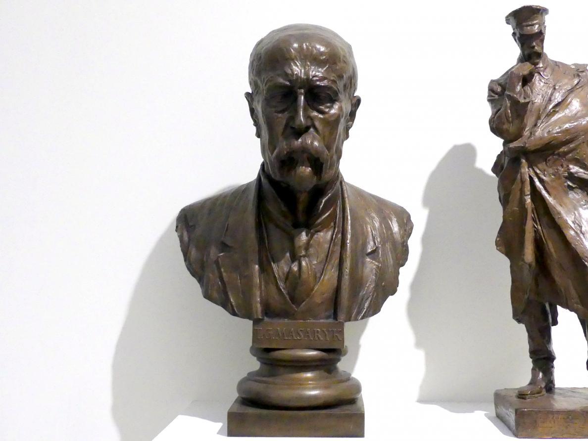 Otakar Španiel: Büste Tomáš Garrigue Masaryk, vor 1938