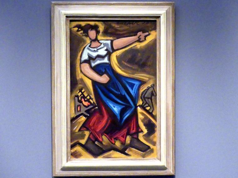 Josef Čapek: Feuer, 1938
