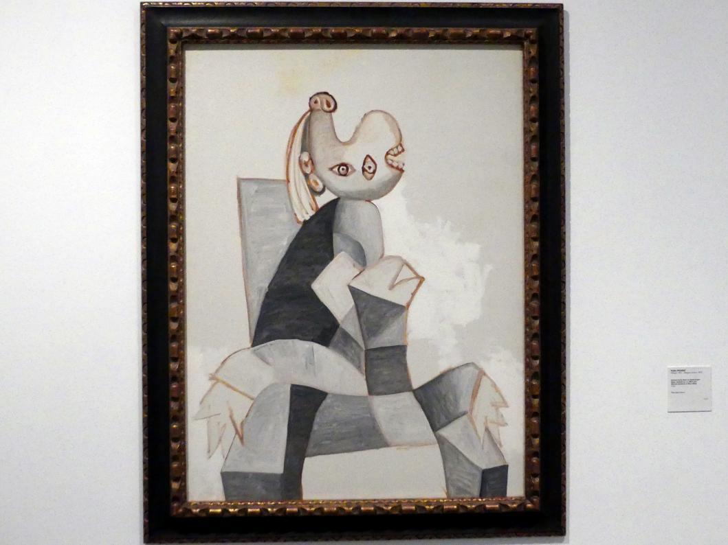 Pablo Picasso: Frau in grauem Sessel sitzend, 1939