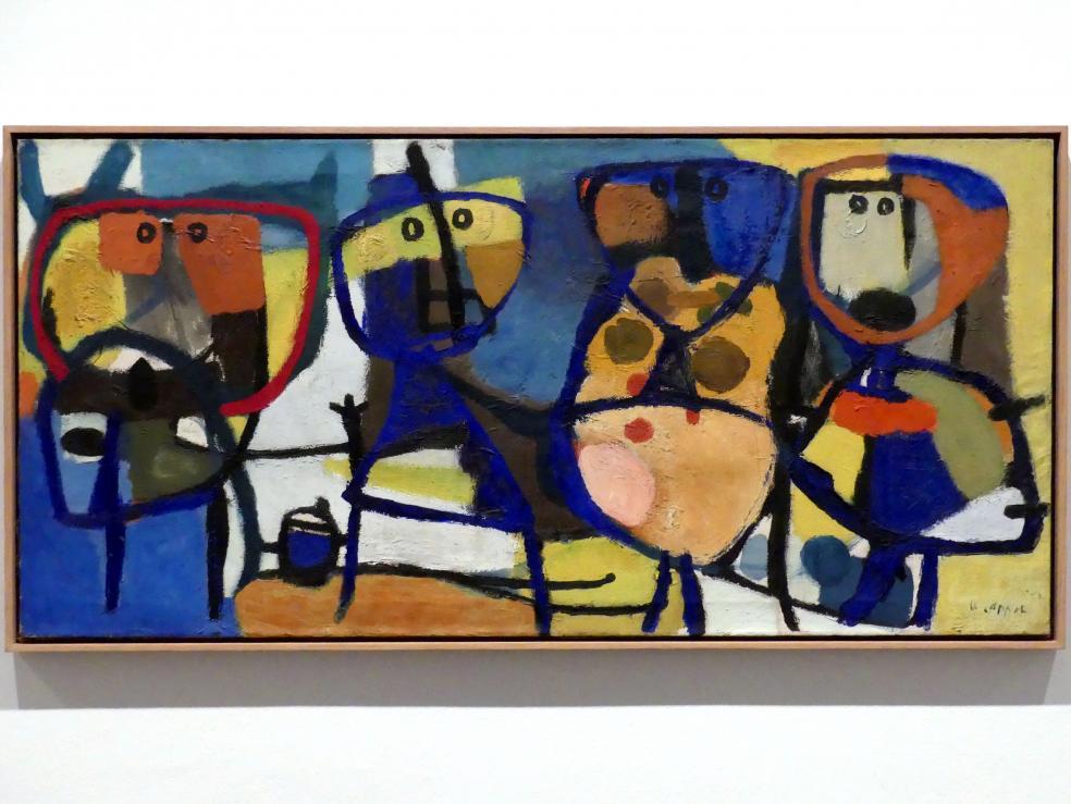 Karel Appel: Figuren, 1952