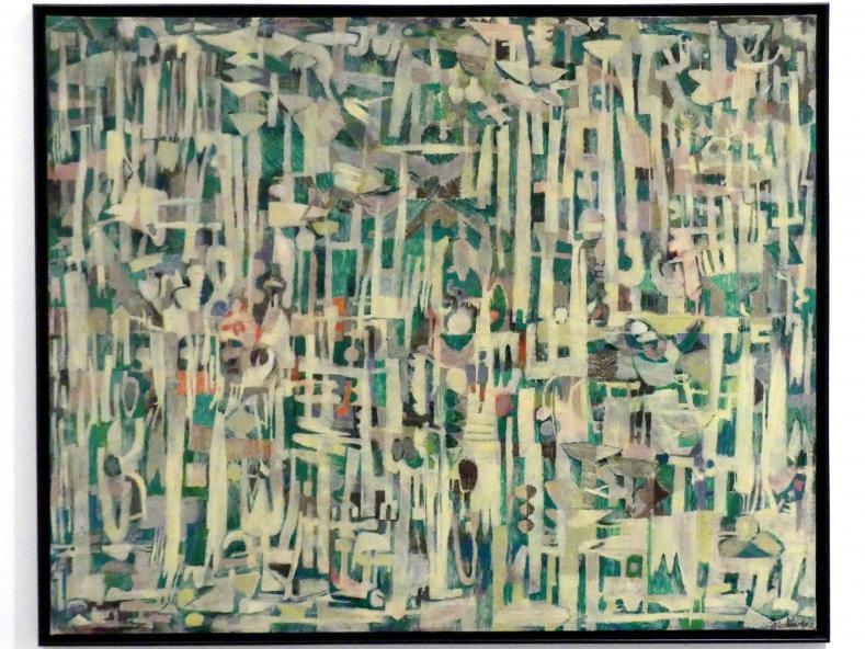 Pierre Alechinsky: Die hohen Gräser, 1951