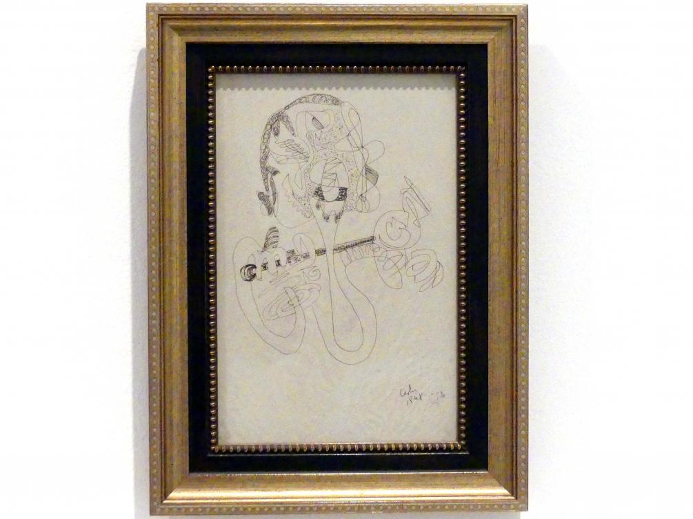 Carlos Edmundo de Ory: Ohne Titel, um 1950, Bild 1/2
