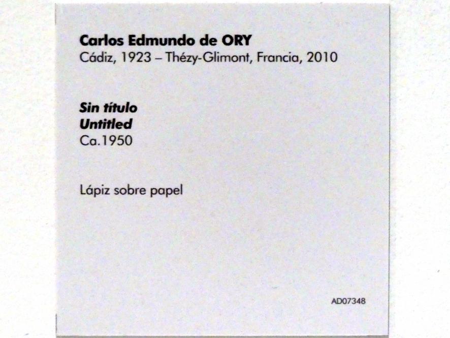 Carlos Edmundo de Ory: Ohne Titel, um 1950, Bild 2/2
