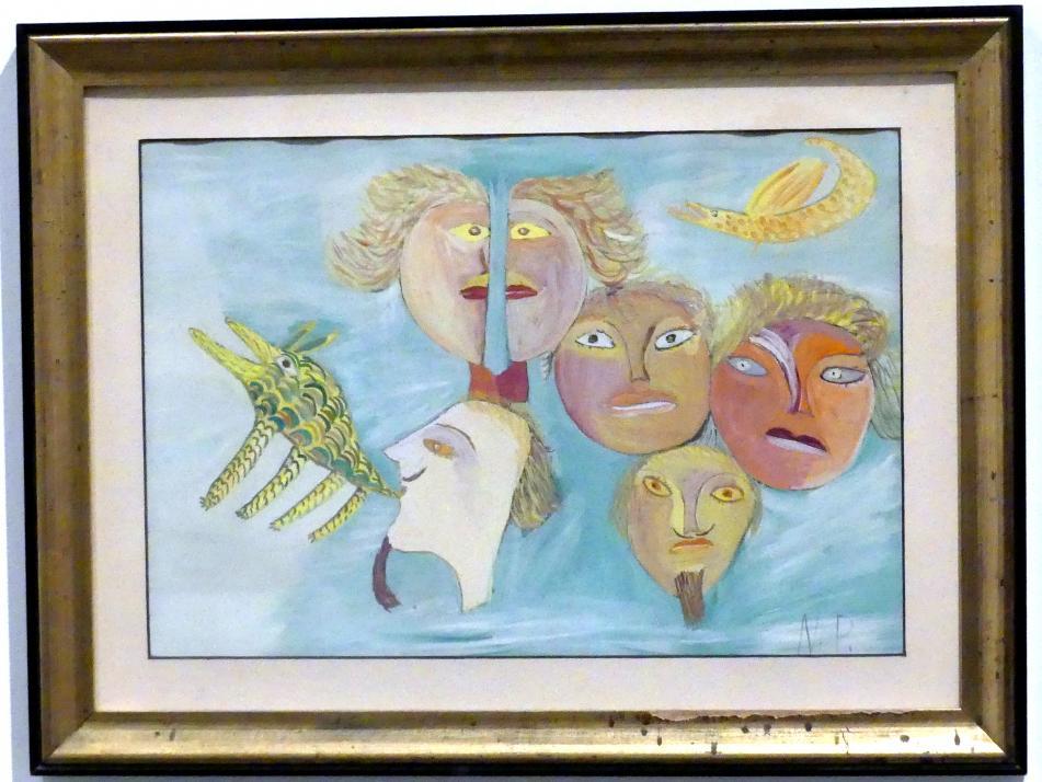 Nanda Papiri: Ohne Titel, um 1950