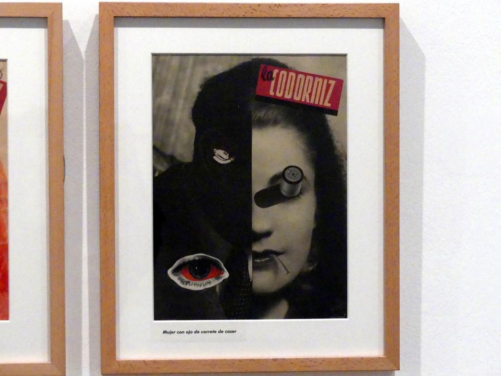 Enrique Herreros: Frau mit Nähspulenauge, 1946