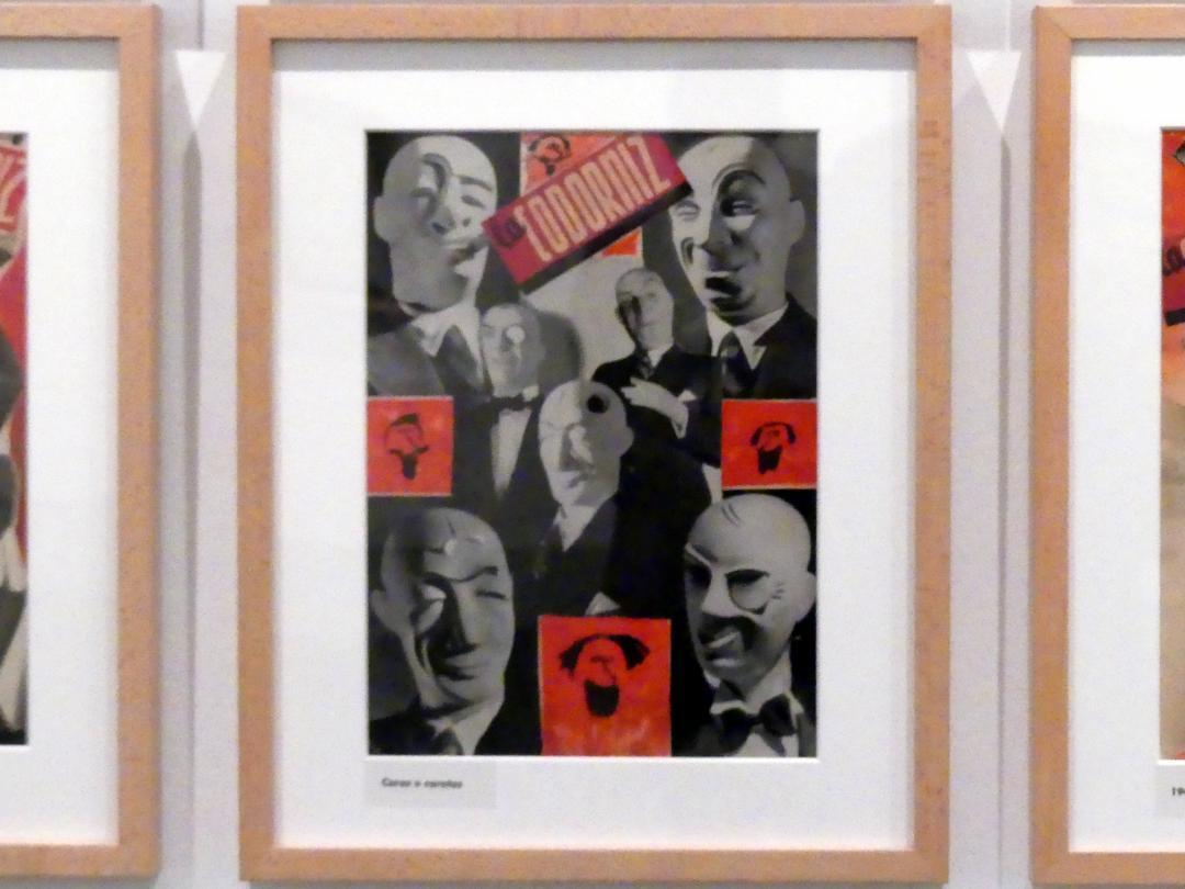 Enrique Herreros: Gesichter und Masken, 1948