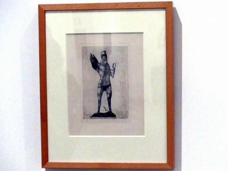 Paul Klee: Der Held mit dem Flügel, 1905