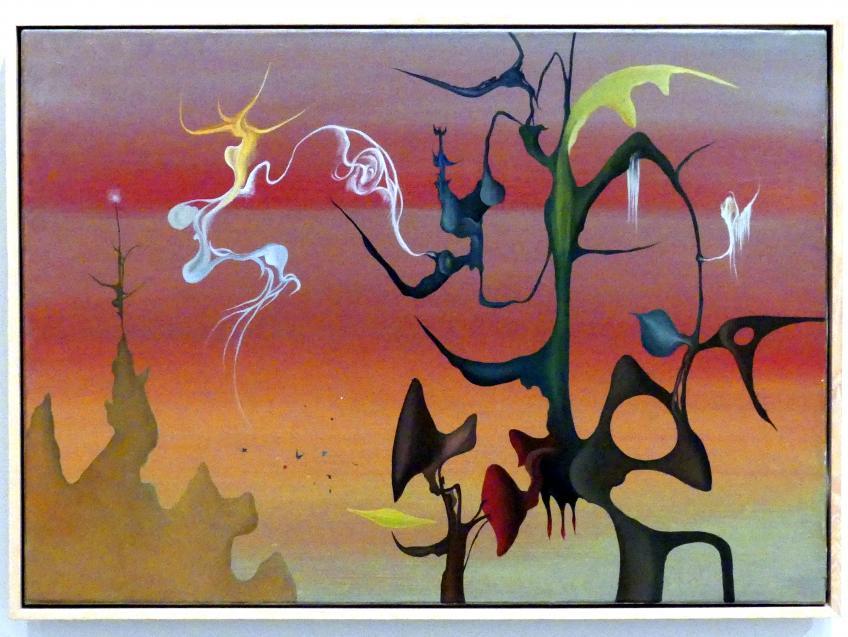 Antonio Saura: Das Neue Blut, 1951