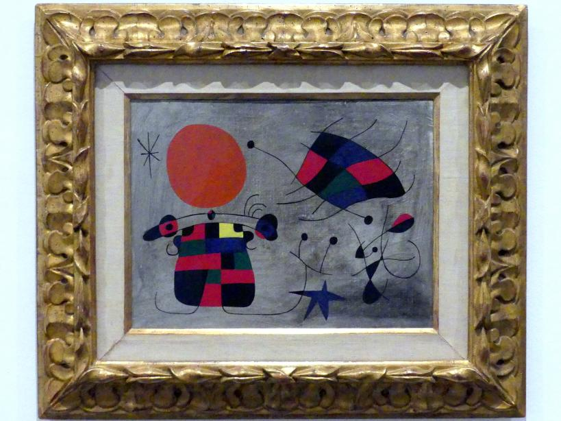 Joan Miró: Das Lächeln der extravaganten Flügel, 1953