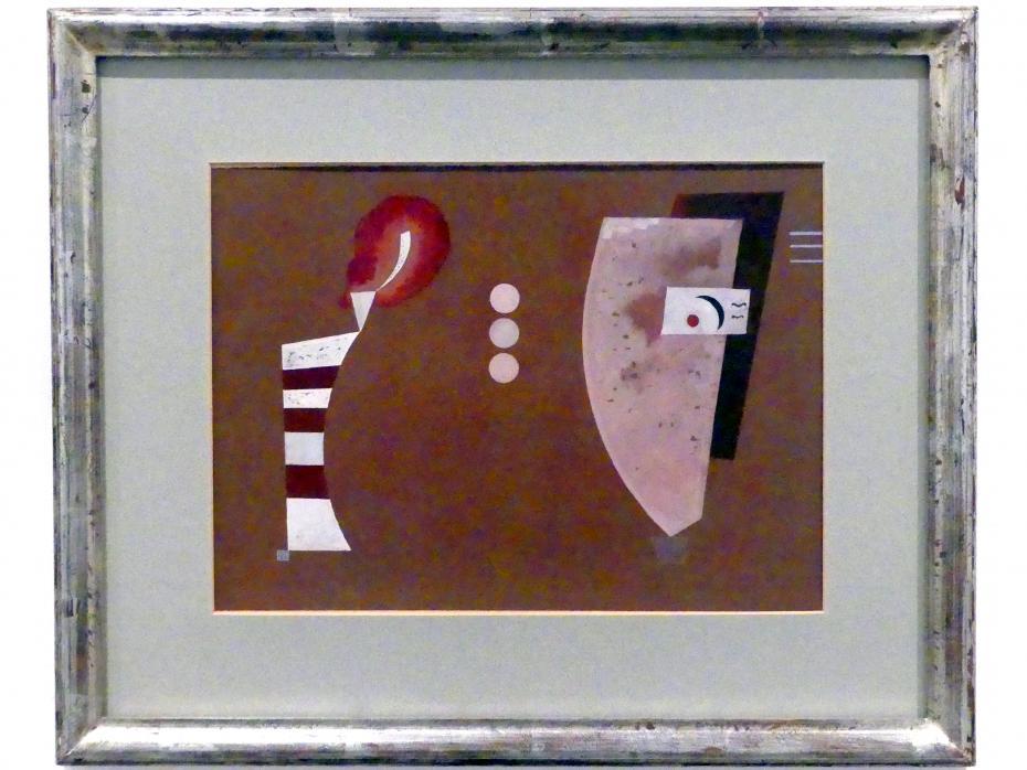 Wassily Kandinsky: Mitten Kreise, 1932