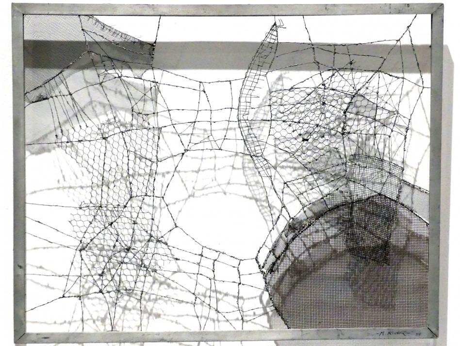 Manuel Rivera: Komposition IV, 1956 - 1957
