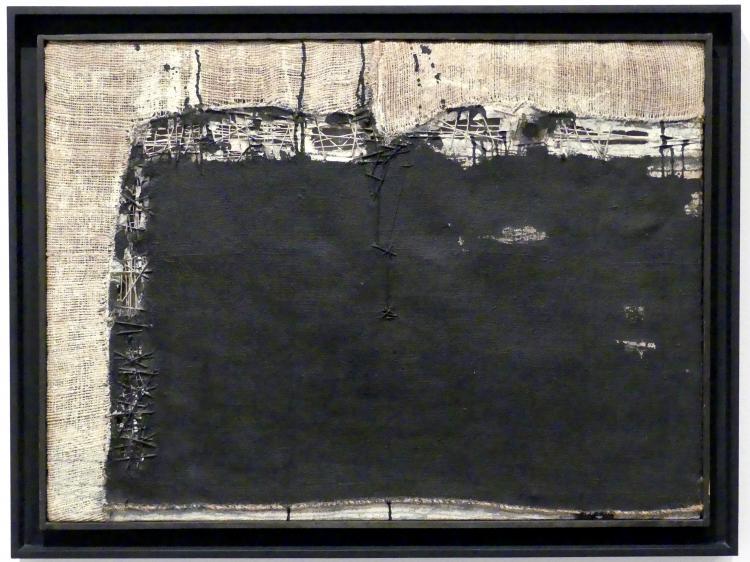 Manolo Millares (Manuel Millares): Gemälde 1957, 1957