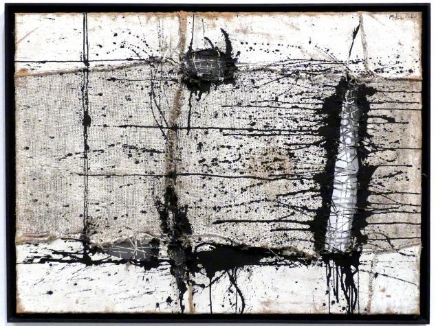 Manolo Millares (Manuel Millares): Gemälde, 1957