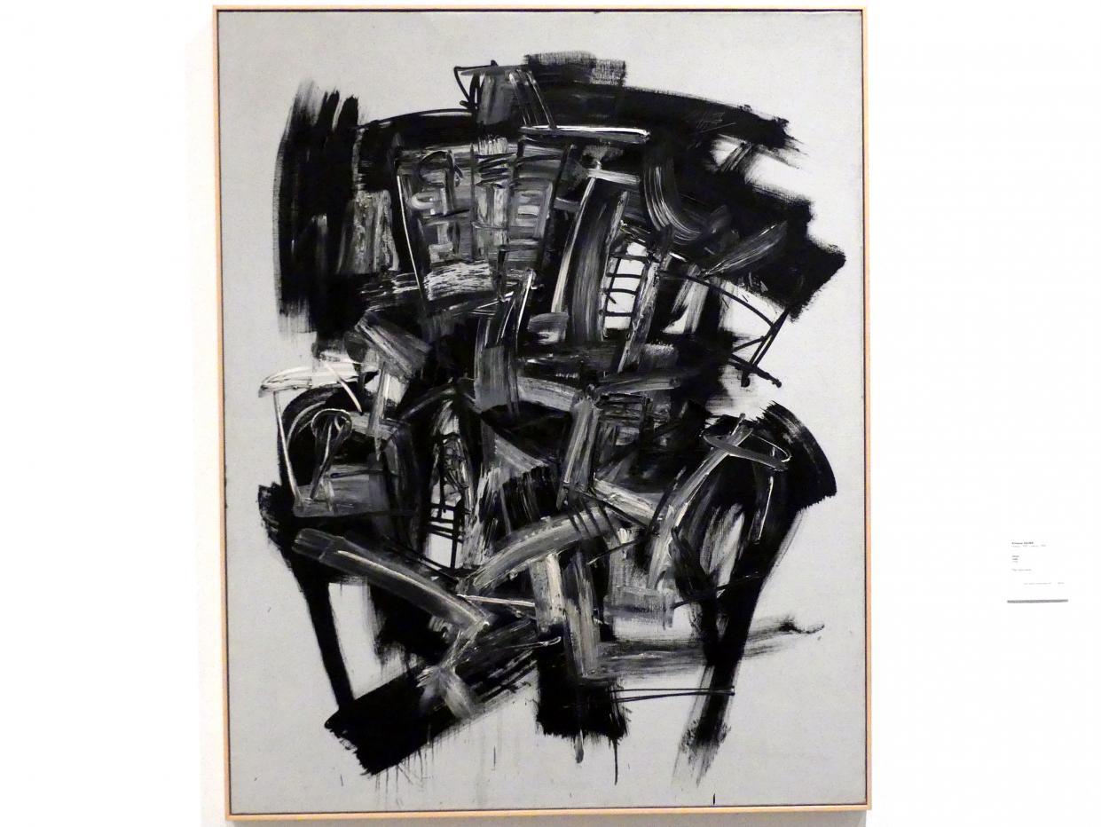 Antonio Saura: Dame, 1956