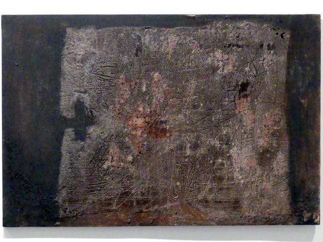 Antoni Tàpies: Gemälde, 1955