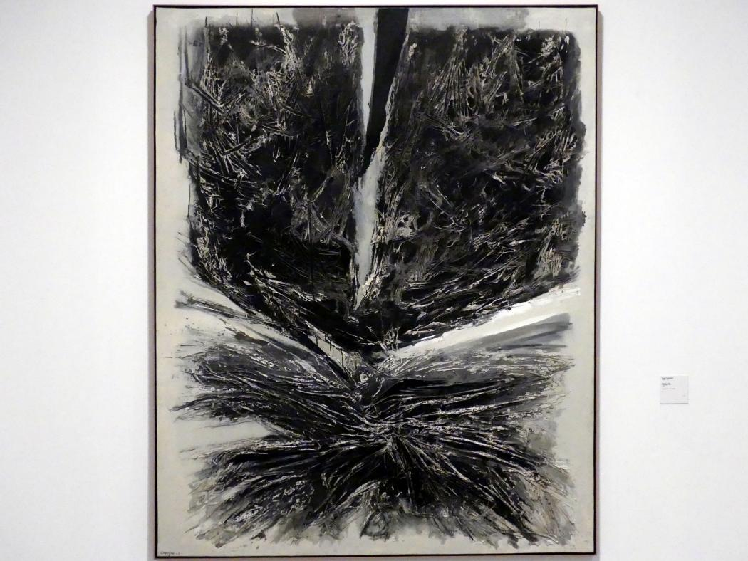 Rafael Canogar: Gemälde Nr. 27, 1959