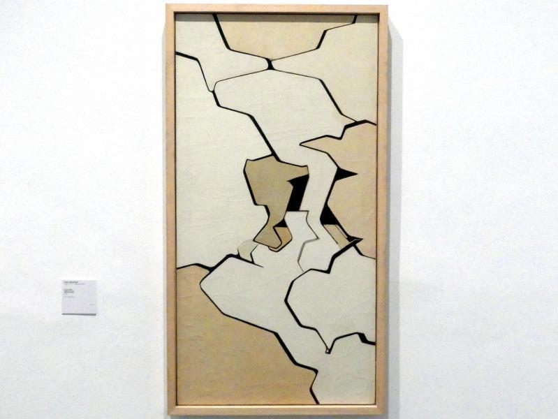 Pablo Palazuelo: Weißes Wetter, 1959