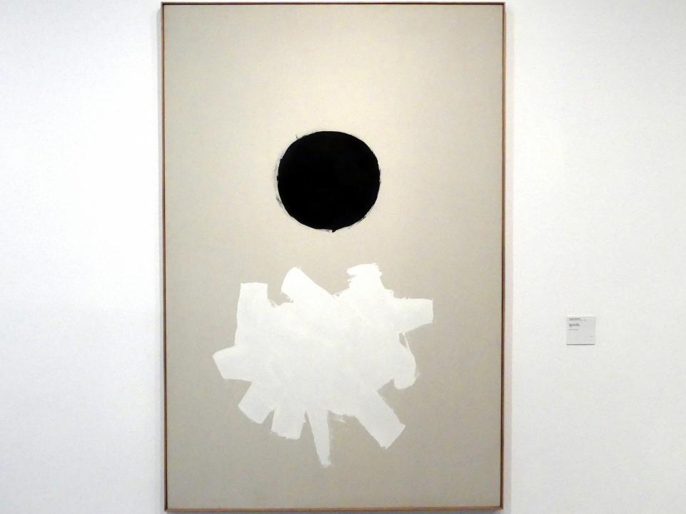 Adolph Gottlieb: Schwarz plus Weiß, 1960