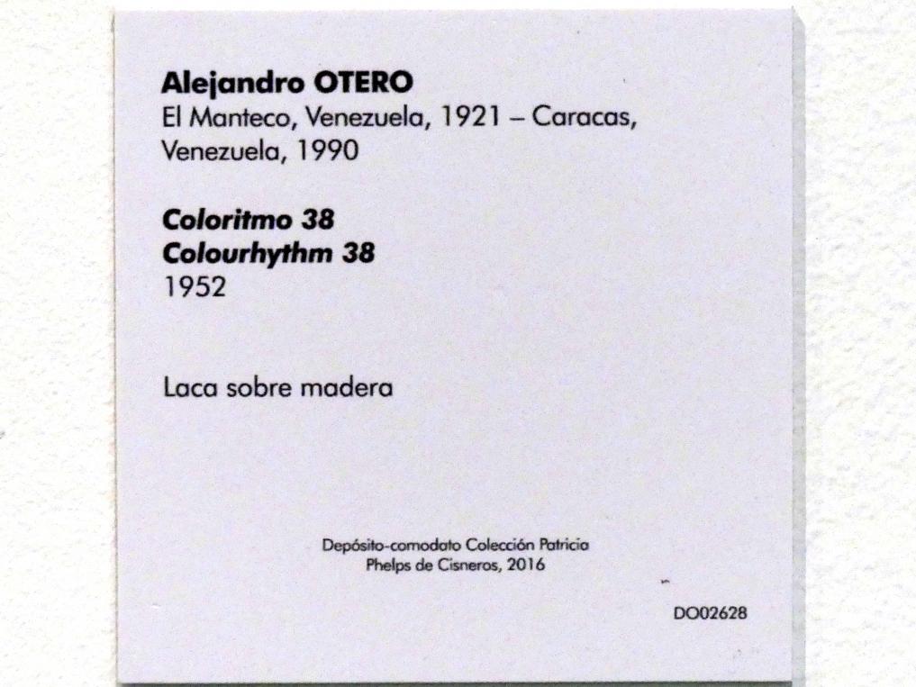 Alejandro Otero: Farbrhythmus 38, 1952, Bild 2/2