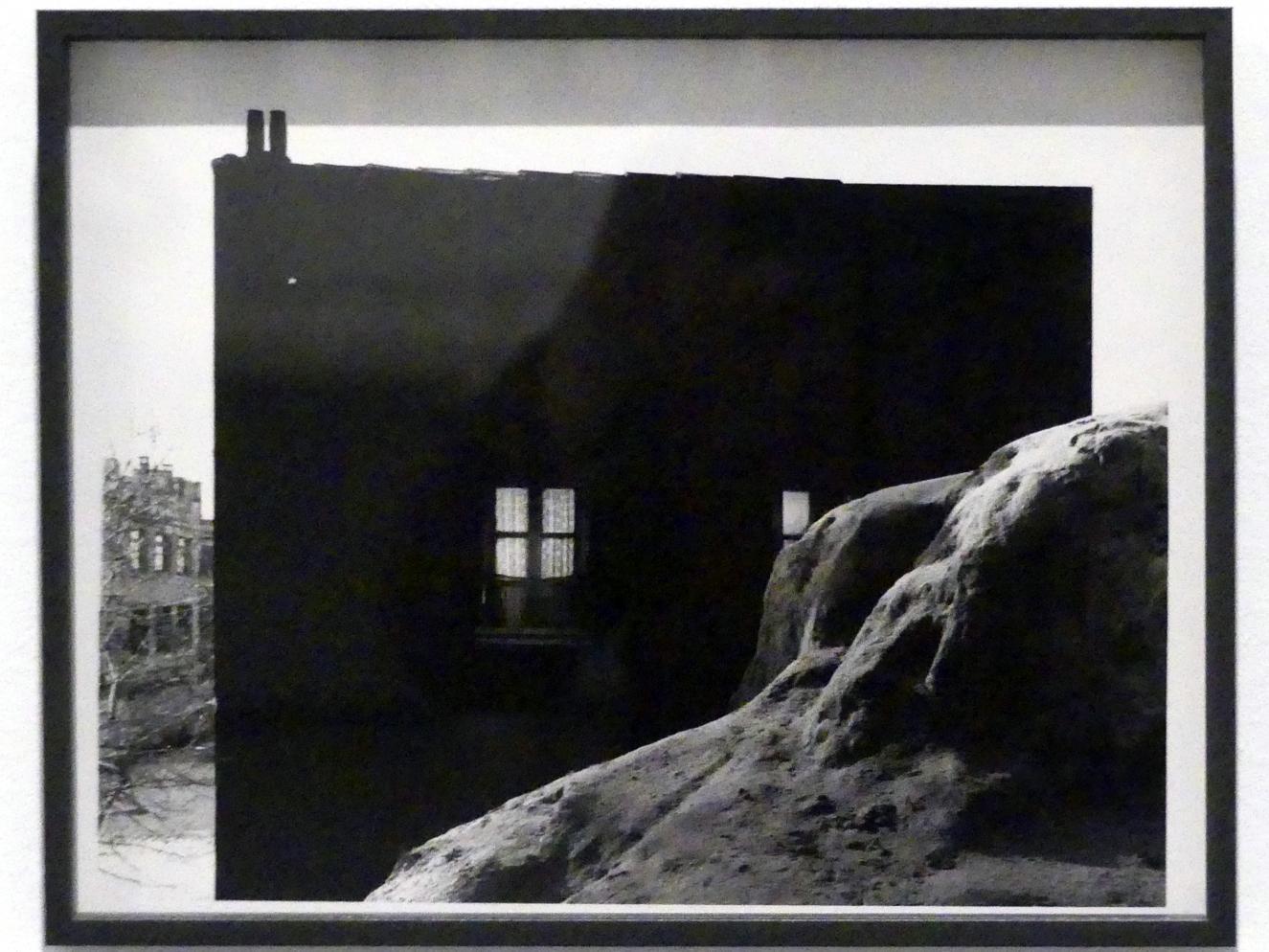 Francisco Gómez: Fassade schwarz bemalt, 1961