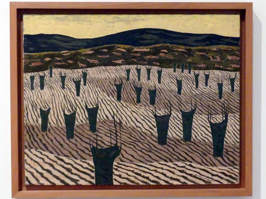 Godofredo Ortega Muñoz: Kastanienbäume, 1956