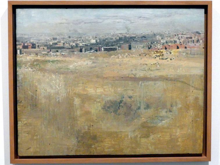 Antonio López García: Madrid vom Tío Pío Hügel, 1962 - 1963