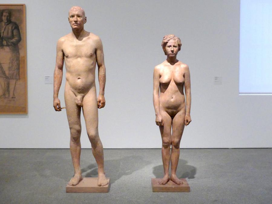 Antonio López García: Mann und Frau, 1968