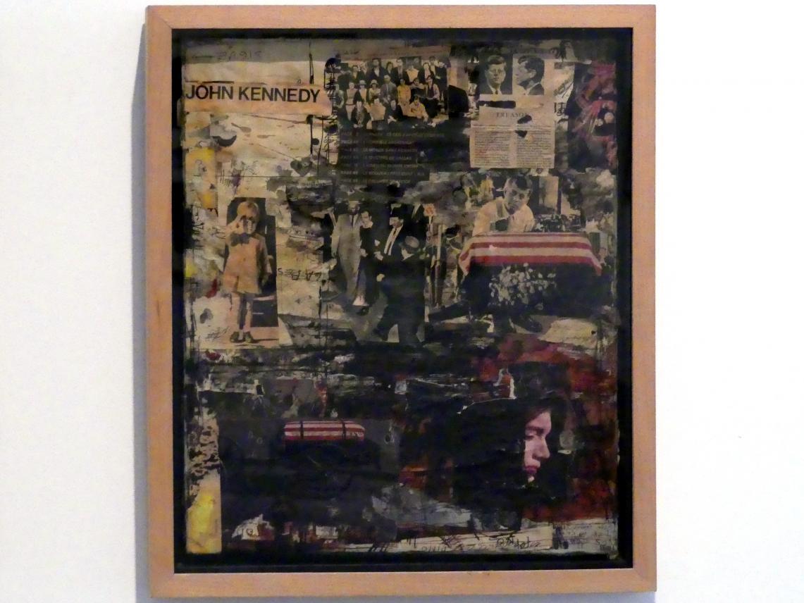 Alberto Greco: Das Kennedy-Attentat, 1963 - 1964