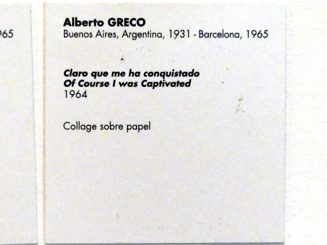 Alberto Greco: Natürlich hat er mich erobert, 1964, Bild 2/2