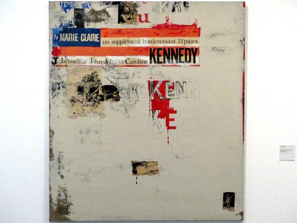 Alberto Greco: Ohne Titel. Anlässlich des Attentats auf John F. Kennedy, 1964