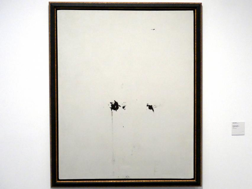 Antoni Tàpies: Zwei Kleckse auf Weiß, 1967