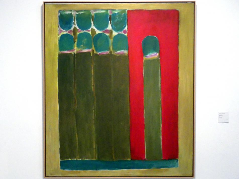 José Guerrero: Grüne Begegnung, 1970